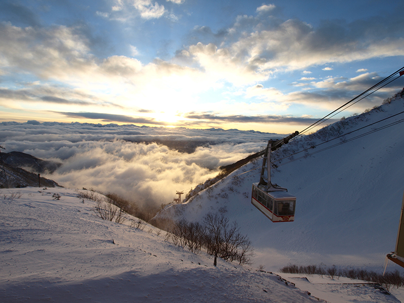 2nd January: Sunrise and Ropeway