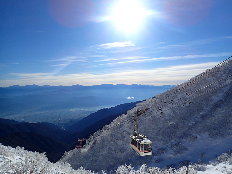 The end of November: Ropeway and Senjojiki in early winter