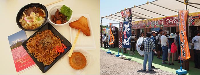 Hasil gambar untuk shibazakura festival food